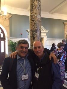 Florentino Cardoso e Iain Chalmers no Evidence Live 2015