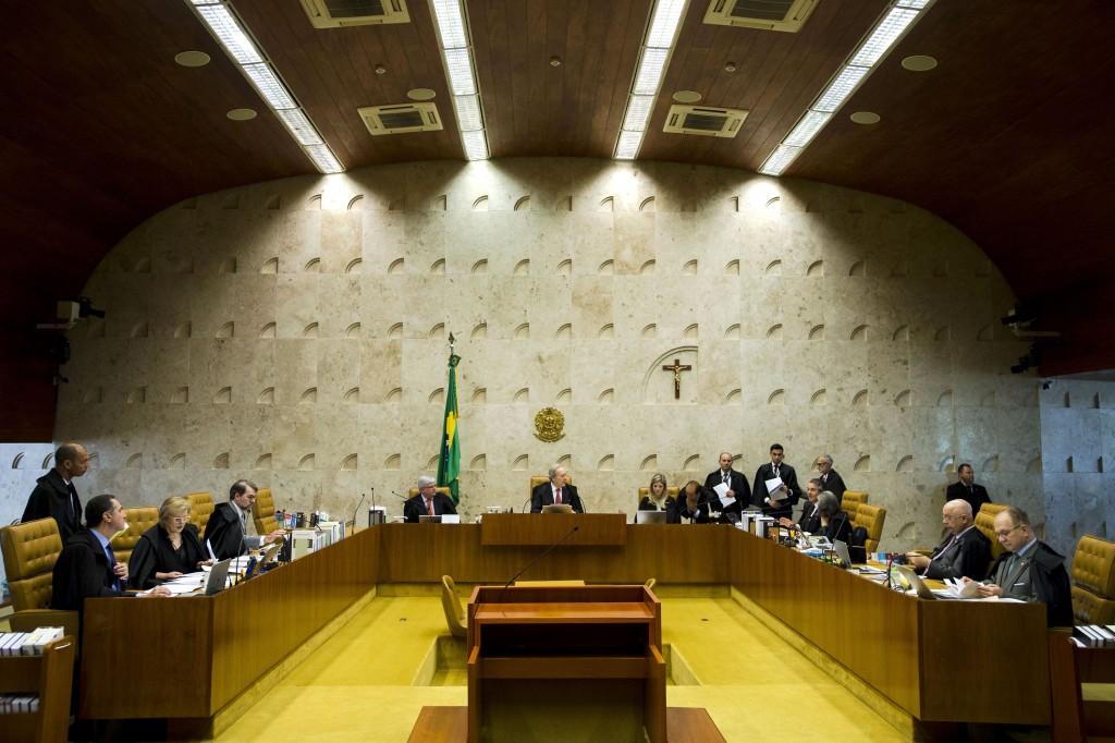 Brasília - O Supremo Tribunal Federal (STF) realiza sessão extraordinária para encerramento do Ano Judiciário (Marcelo Camargo/Agência Brasil)